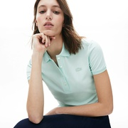 Lacoste Womens Stretch Cotton Pique Polo