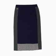 Lacoste Womens Colorblock Pencil Skirt